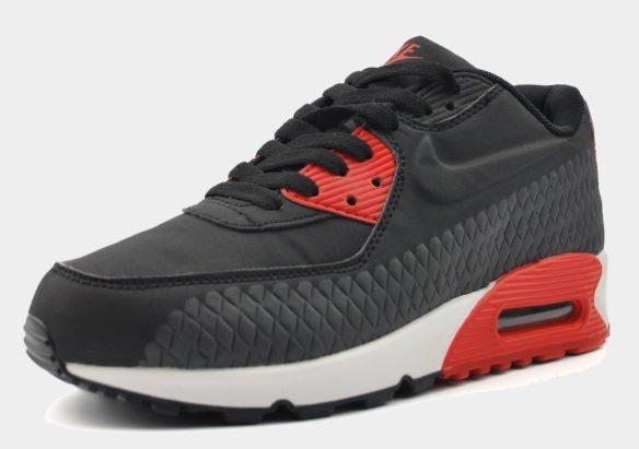 Nike Air Max 90 Черные с красным