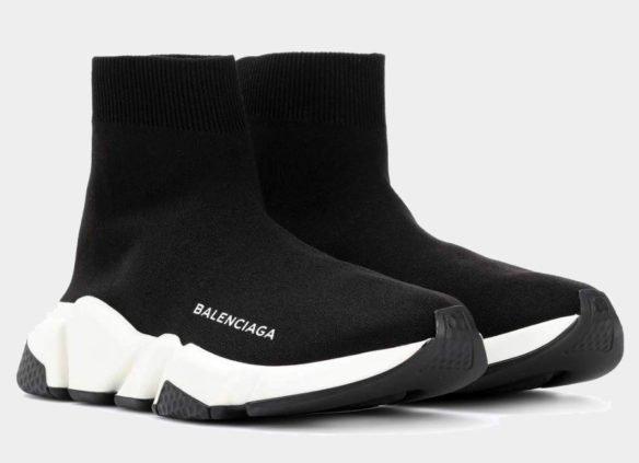 Фото Balenciaga Speed Trainer черные - 3