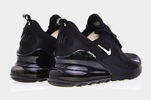 Фото Nike Air Max 270 черные с белым - 3