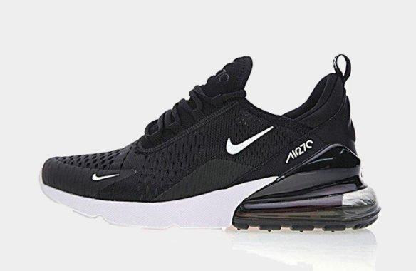 Фото Nike Air Max 270 черно-белые - 2