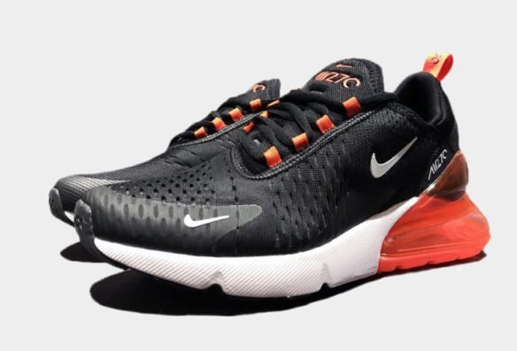 Фото Nike Air Max 270 Black-White-Red - 3