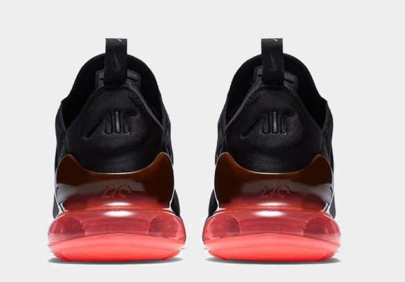 Фото Nike Air Max 270 черно-красные - 1